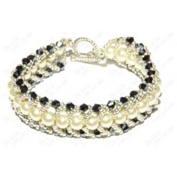 Bracelet chic noir & blanc