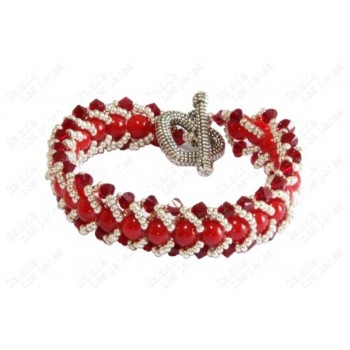 Bracelet chic rouge