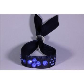 Bracelet strass marine Swarovski